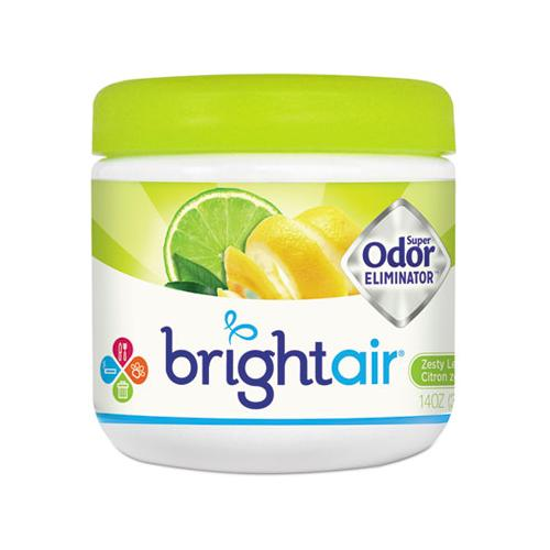 BRIGHT Air Super Odor Eliminator, Zesty Lemon And Lime, 14 Oz