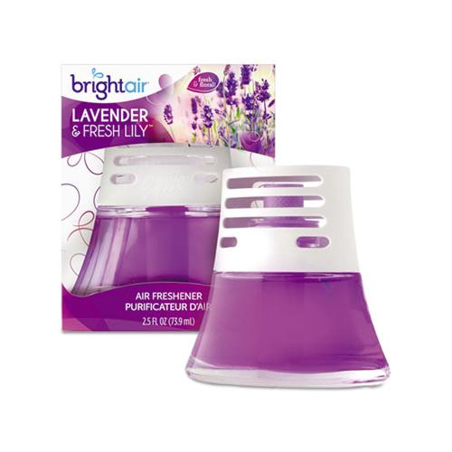 BRIGHT Air SCENTED OIL AIR FRESHENER, SWEET LAVENDER AND VIOLET, 2.5 OZ