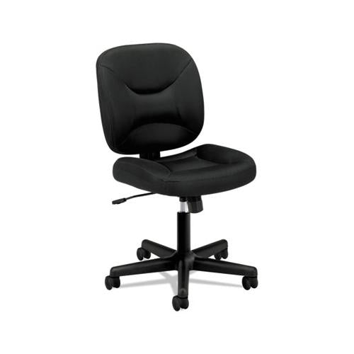 HON Vl210 Series Mesh Low-Back Task Chair, Black