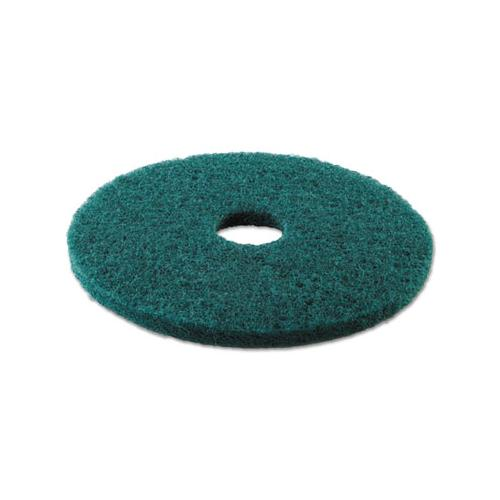 "Boardwalk HEAVY-DUTY SCRUBBING FLOOR PADS, 16"" DIAMETER, GREEN, 5-CARTON"