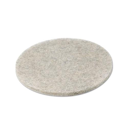 "Boardwalk NATURAL HOG HAIR BURNISHING FLOOR PADS, 20"" DIAMETER, 5-CARTON"