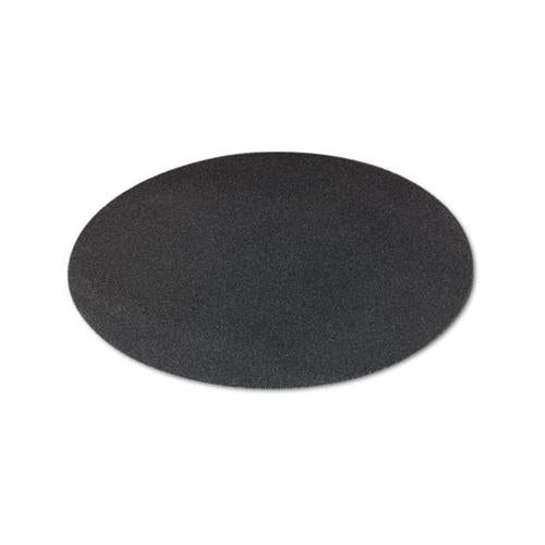 "Boardwalk Sanding Screens, 20"" Diameter, 80 Grit, Black, 10-carton"