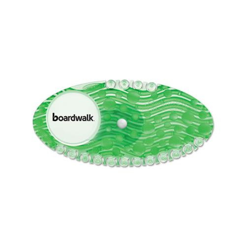 Boardwalk Curve Air Freshener, Cucumber Melon, Green, 10-box