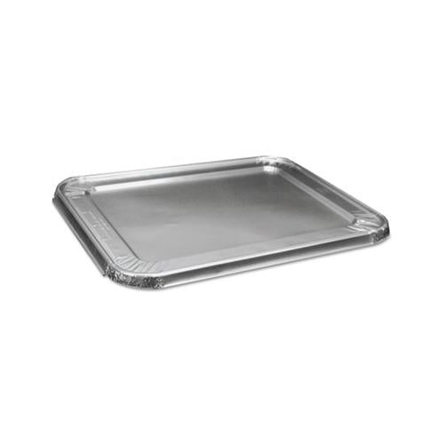 Boardwalk HALF SIZE ALUMINUM STEAM TABLE PAN LID, DEEP, 100-CARTON