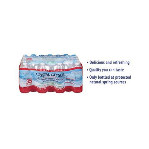 CrystlGey Alpine Spring Water, 16.9 Oz Bottle, 35-case