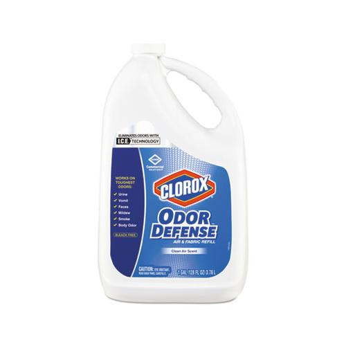 Clorox Commercial Solutions Odor Defense Air-fabric Spray, Clean Air Scent,1gal Bottle