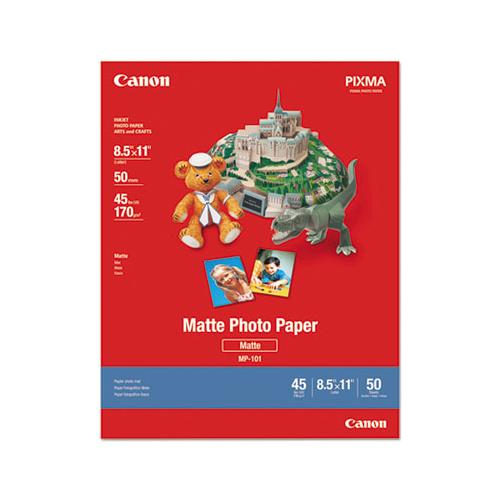 Canon Photo Paper Plus, Matte, 8-1-2 X 11, 50 Sheets-pack