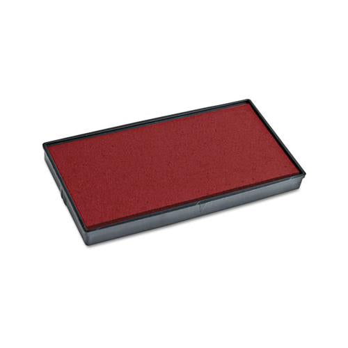 2000 PLUS Replacement Ink Pad For 2000plus 1si30pgl, Red