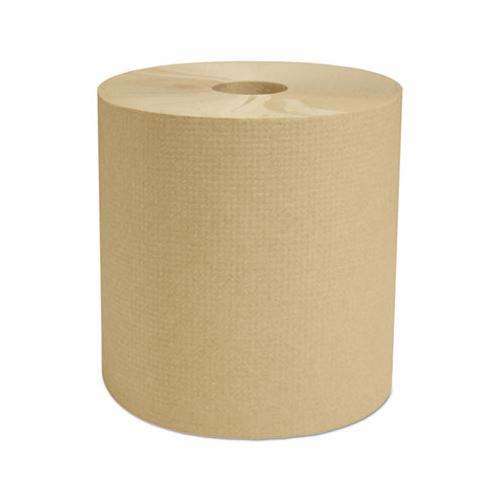 "Cascades Select Hardwound Roll Towels, Natural, 7 7-8"" X 800 Ft, 6-carton"