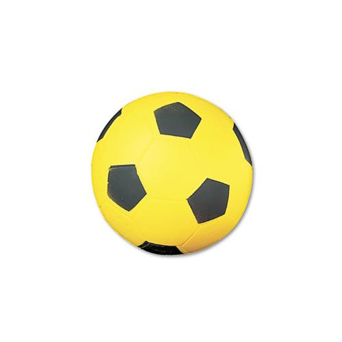 Champion Coated Foam Sport Ball, For Soccer, Playground Size, Yellow