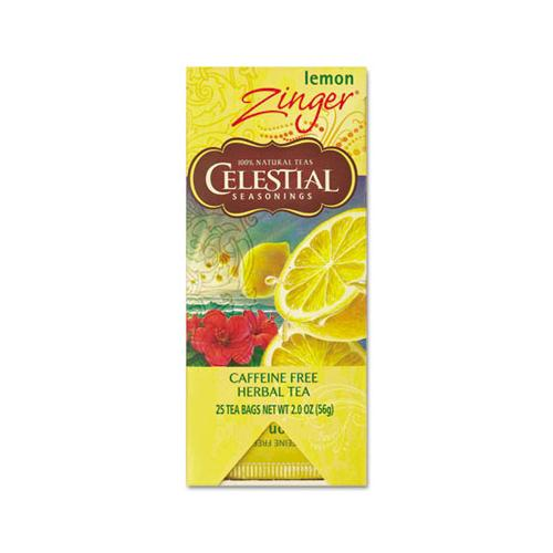 Celestial Tea, Herbal Lemon Zinger, 25-box