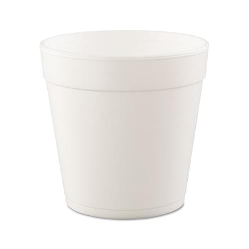Dart Foam Containers, 32oz, White, 25-bag, 20 Bags-carton