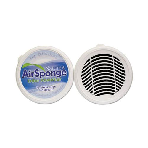 NaturesAir Sponge Odor Absorber, Neutral, 8 Oz, Designer Cup, 24-carton