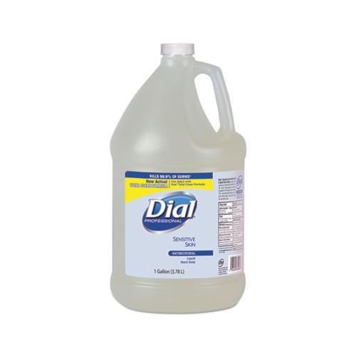 Dial Antimicrobial Soap For Sensitive Skin, Floral, 1gal Bottle, 4-carton