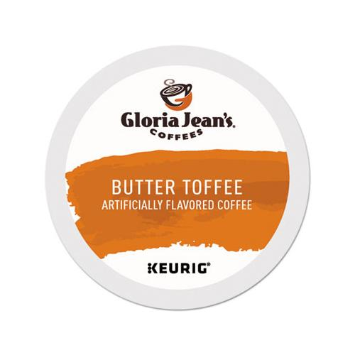 GlorJeans Butter Toffee Coffee K-Cups, 96-carton
