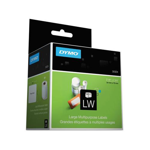 DYMO Lw Multipurpose Labels, 2 3-4 X 2 1-8, White, 320 Labels-roll