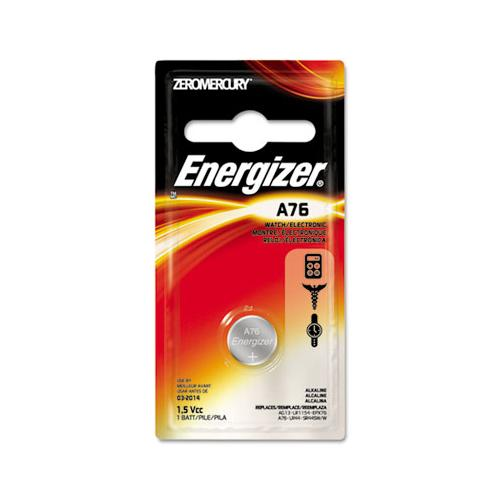 Energizer Watch-electronic Battery, Alkaline, A76, 1.5v, Mercfree