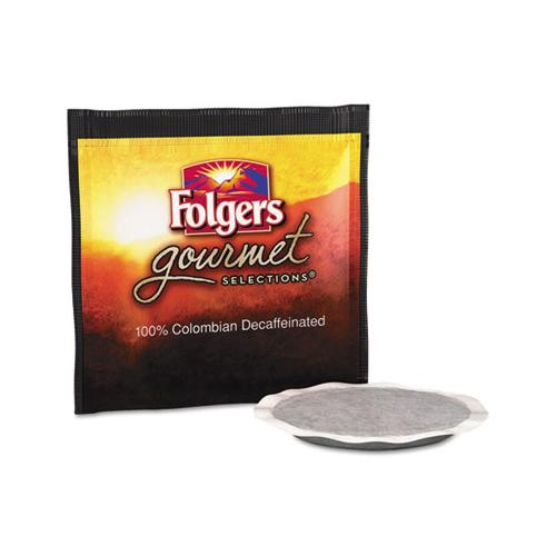 Folgers Gourmet Selections Coffee Pods, 100% Colombian Decaf, 18-box
