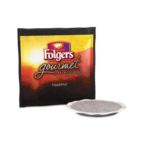 Folgers Gourmet Selections Coffee Pods, Hazelnut, 18-box