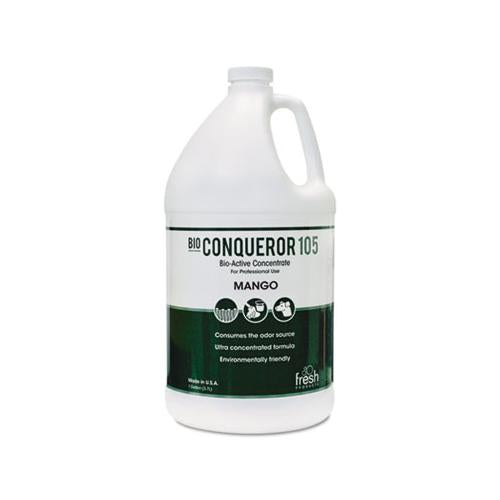 FreshProd Bio Conqueror 105 Enzymatic Concentrate, Mango, 1gal, Bottle, 4-carton