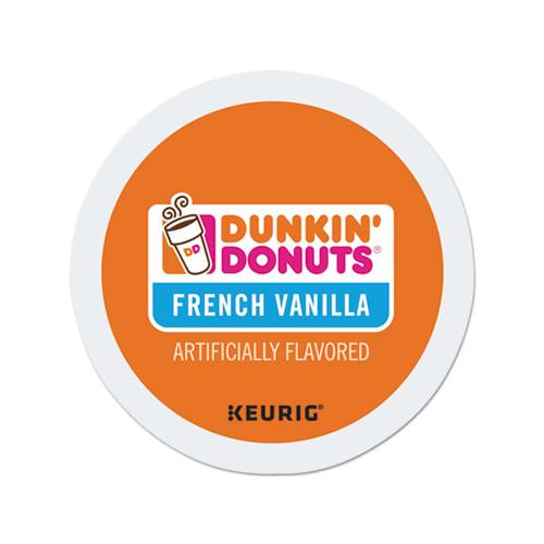 DunkinDonu K-Cup Pods, French Vanilla, 24-box
