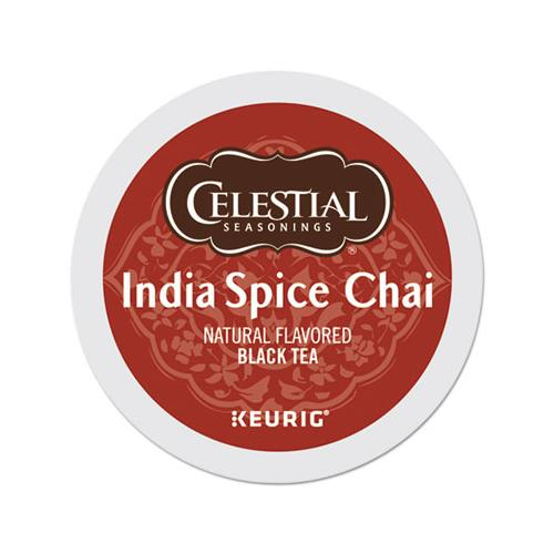 Celestial India Spice Chai Tea K-Cups, 96-carton