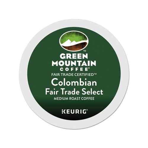 GreenMtn Colombian Fair Trade Select Coffee K-Cups, 96-carton