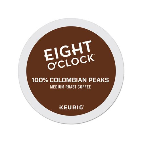 EightOClok Colombian Peaks Coffee K-Cups