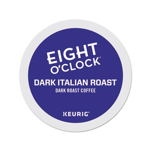 EightOClok Dark Italian Roast Coffee K-Cups