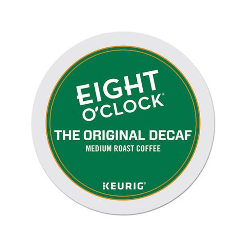 EightOClok Original Decaf Coffee K-Cups, 24-box