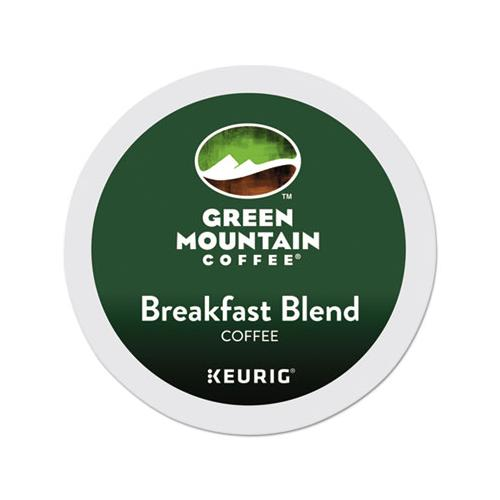 GreenMtn Breakfast Blend Coffee K-Cups, 96-carton
