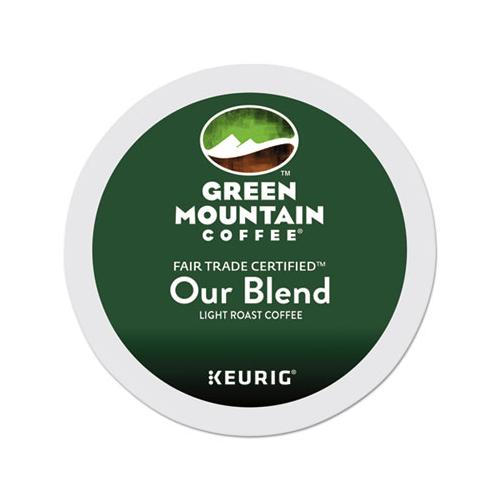 GreenMtn Our Blend Coffee K-Cups, 96-carton