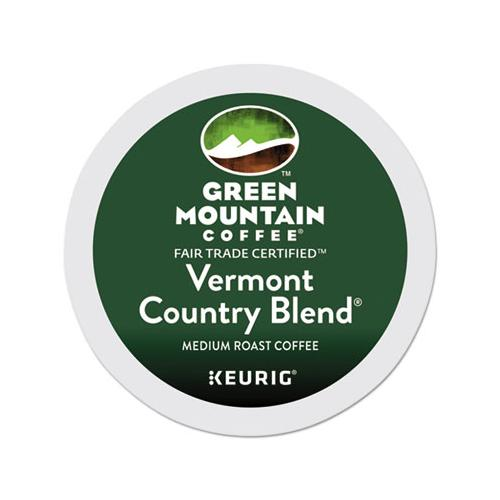 GreenMtn Vermont Country Blend Coffee K-Cups, 96-carton