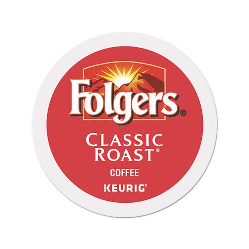 Folgers Gourmet Selections Classic Roast Coffee K-Cups, 96-carton