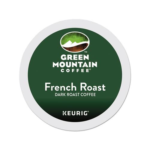 GreenMtn French Roast Coffee K-Cups, 96-carton