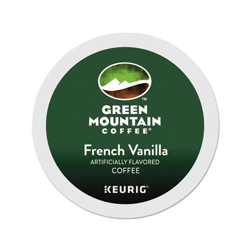 GreenMtn French Vanilla Coffee K-Cups, 24-box