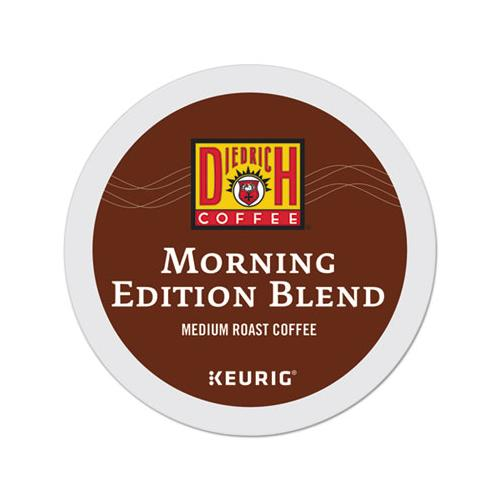 DiedrichCf Morning Edition Coffee K-Cups, 96-carton