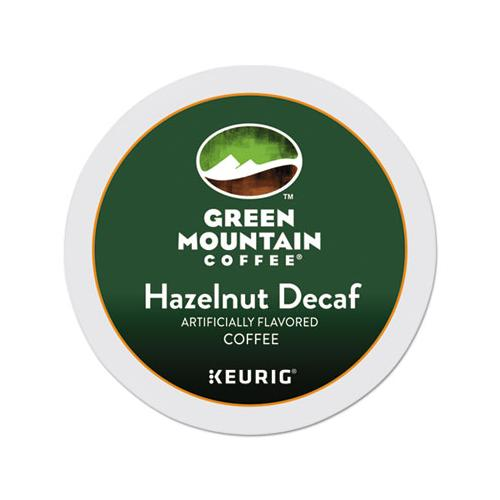 GreenMtn Hazelnut Decaf Coffee K-Cups, 24-box