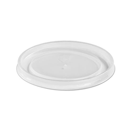 Chinet Plastic High Heat Vented Lid, Fits 16-32 Oz, White, 50-bag, 10-bags Carton
