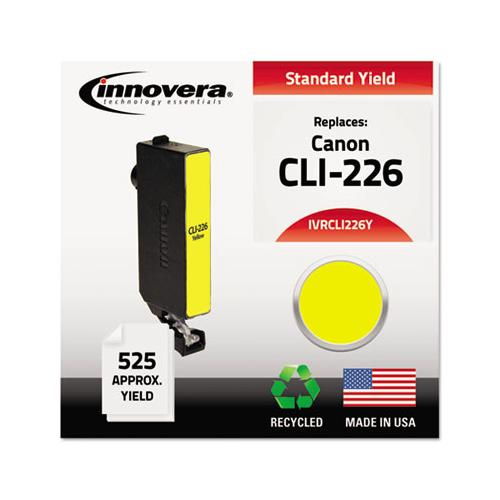 Innovera Remanufactured 4549b001aa (cli-226) Ink, Yellow