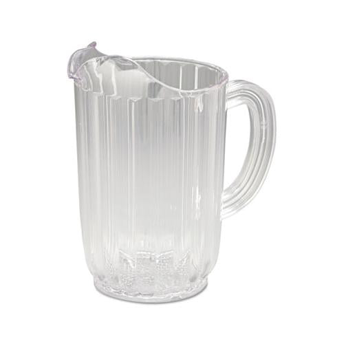 Rubbermaid Bouncer Plastic Pitcher, 32oz, Clear
