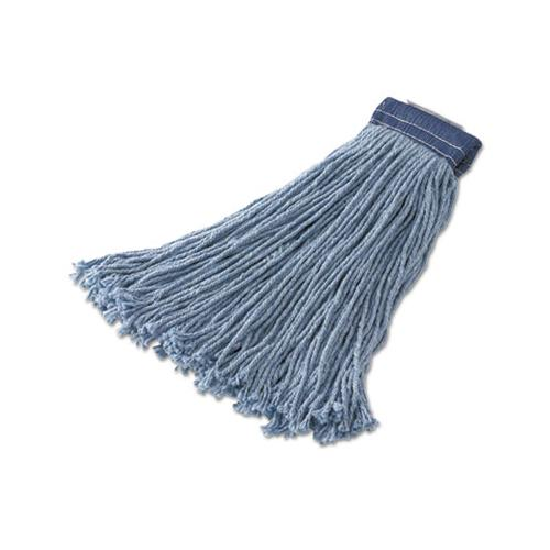 Rubbermaid Non-Launderable Cotton-synthetic Cut-End Wet Mop Heads, Ctn-syn, 32oz, Be,12-ct