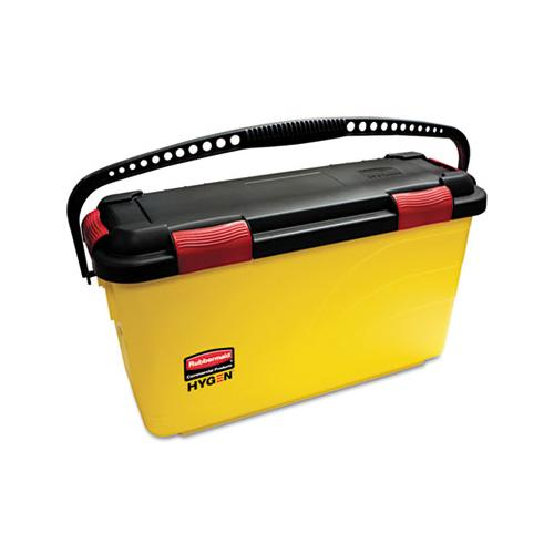 Rubbermaid Hygen Charging Bucket, Yellow