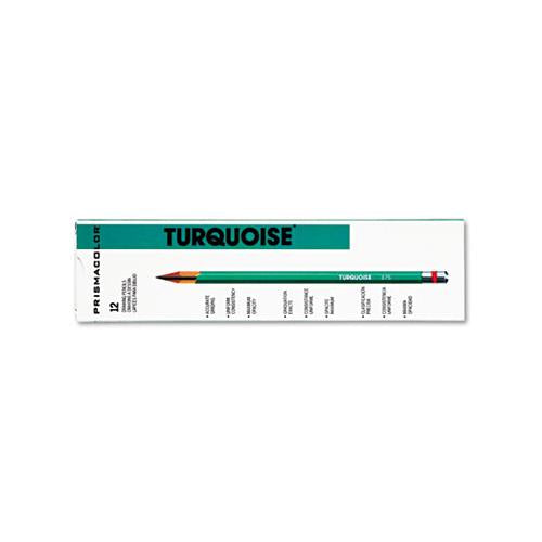 Prismaclor Turquoise Drawing Pencil, 6b, 1.98 Mm, Dozen