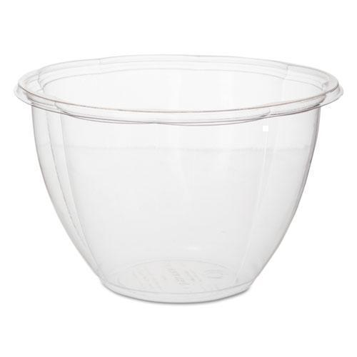 "EcoProduct Salad Bowls, Clear, 48 Oz, 6 11-16"" Dia, 300-carton-Eco-Products®-Omni Supply"