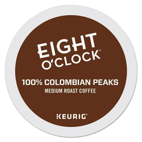 EightOClok Colombian Peaks Coffee K-Cups-Eight O'Clock-Omni Supply