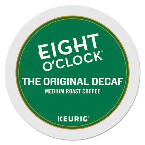 EightOClok Original Decaf Coffee K-Cups, 24-box-Eight O'Clock-Omni Supply
