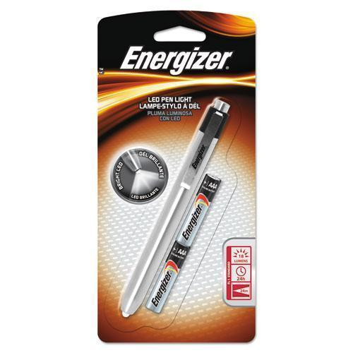 Energizer Aluminum Pen Led Flashlight, 2 Aaa, Black-Energizer®-Omni Supply