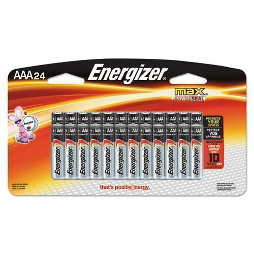 Energizer Max Alkaline Batteries, Aaa, 24 Batteries-pack-Energizer®-Omni Supply
