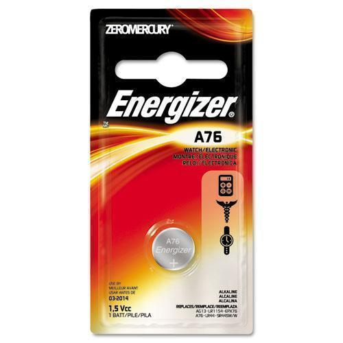 Energizer Watch-electronic Battery, Alkaline, A76, 1.5v, Mercfree-Energizer®-Omni Supply
